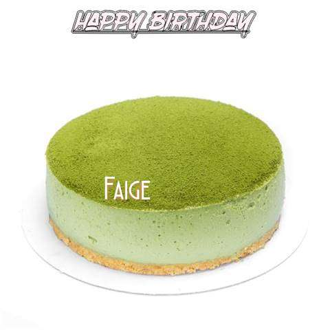 Happy Birthday Cake for Faige