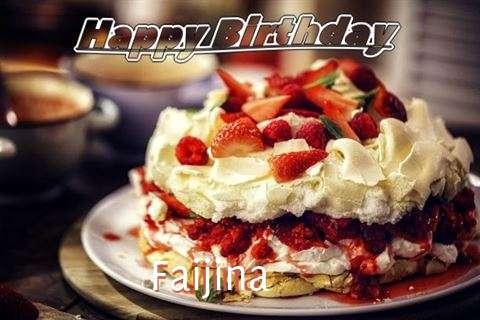 Happy Birthday Faijina