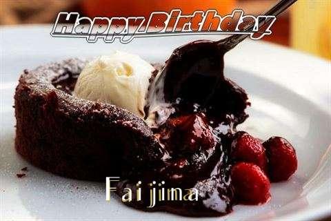 Happy Birthday Wishes for Faijina