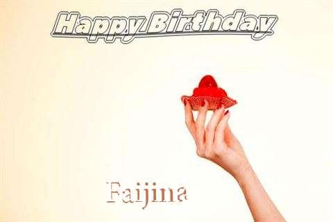 Happy Birthday to You Faijina