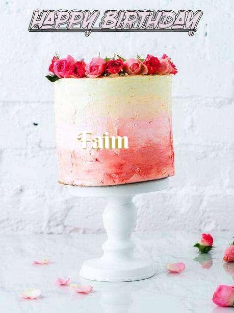 Birthday Images for Faim