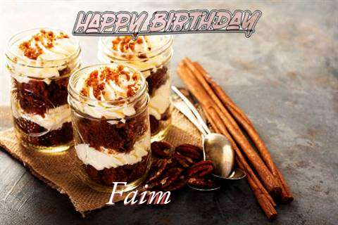 Faim Birthday Celebration