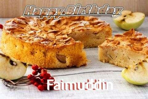Faimuddin Birthday Celebration