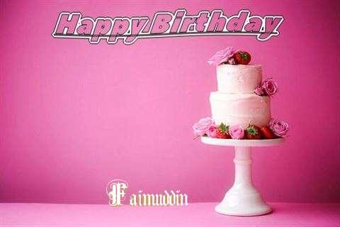 Happy Birthday Wishes for Faimuddin