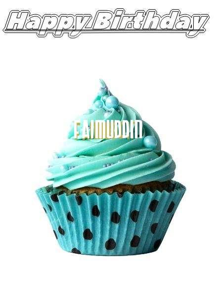 Happy Birthday to You Faimuddin