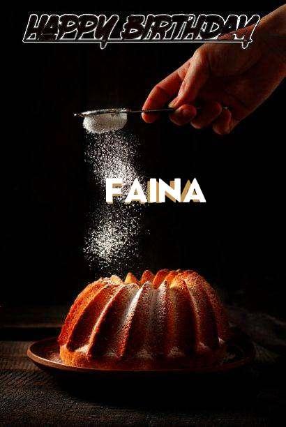 Birthday Images for Faina