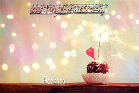 Faina Birthday Celebration