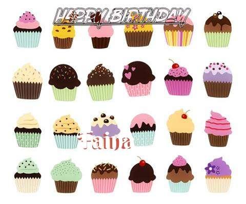Happy Birthday Wishes for Faina
