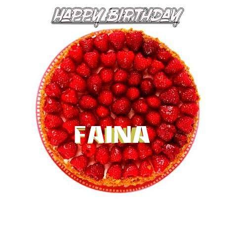 Happy Birthday to You Faina