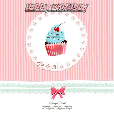 Happy Birthday to You Faisal