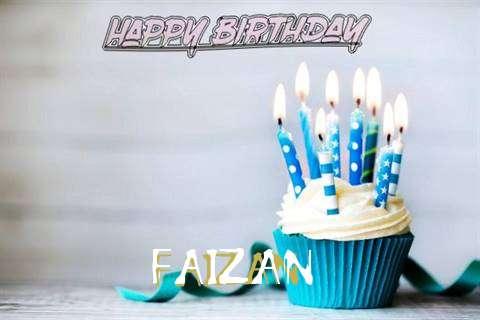 Happy Birthday Faizan Cake Image