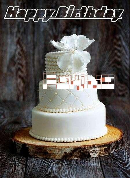 Happy Birthday Fakiha Cake Image