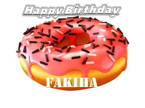 Happy Birthday to You Fakiha