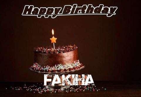 Happy Birthday Cake for Fakiha