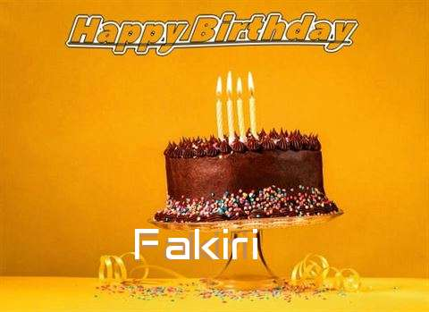 Happy Birthday Fakiri