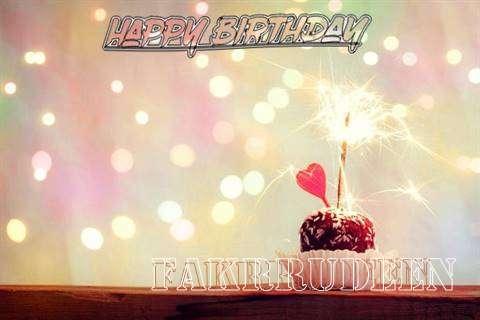 Fakrrudeen Birthday Celebration