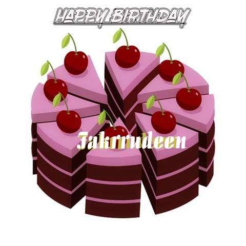 Happy Birthday Cake for Fakrrudeen