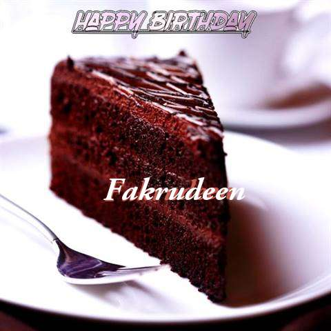 Happy Birthday Fakrudeen