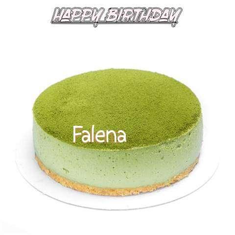 Happy Birthday Cake for Falena