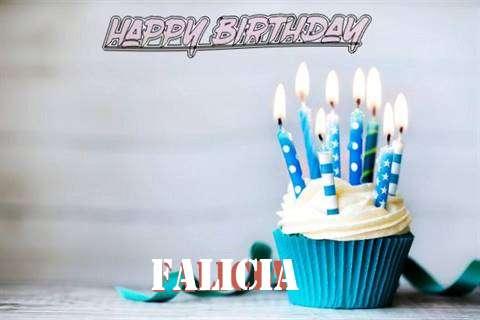Happy Birthday Falicia Cake Image