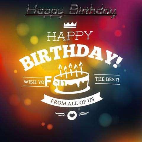 Fan Birthday Celebration