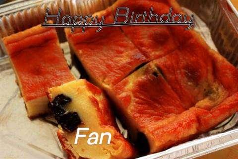 Happy Birthday Cake for Fan