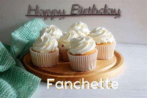 Happy Birthday Fanchette