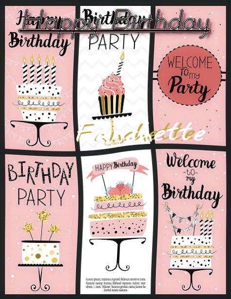Happy Birthday to You Fanchette