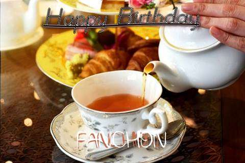 Happy Birthday Fanchon Cake Image