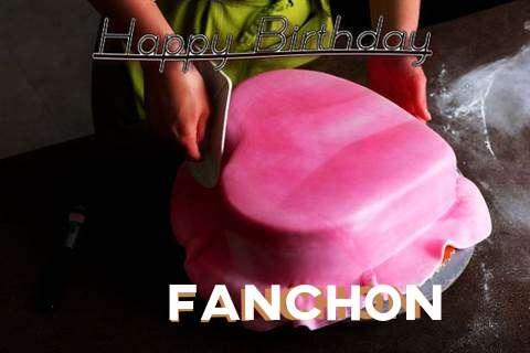 Happy Birthday Cake for Fanchon