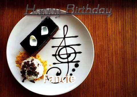 Happy Birthday Cake for Fancie