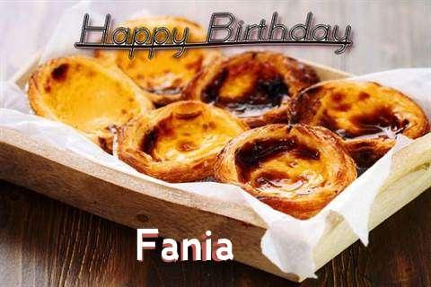 Happy Birthday Wishes for Fania