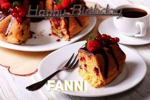 Happy Birthday to You Fanni