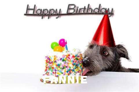 Happy Birthday Fannie Cake Image