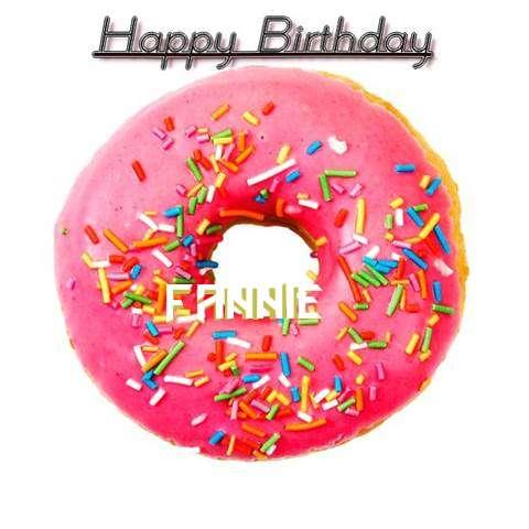 Happy Birthday Wishes for Fannie