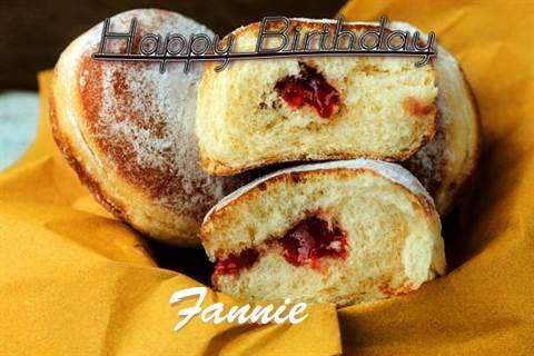Happy Birthday Cake for Fannie