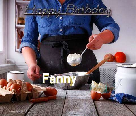 Happy Birthday to You Fanny