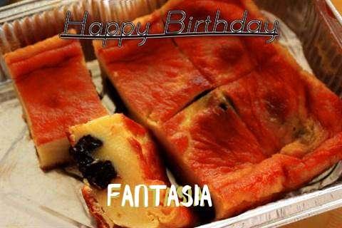 Happy Birthday Cake for Fantasia