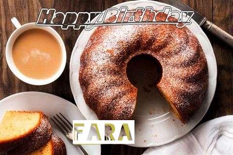 Happy Birthday Fara