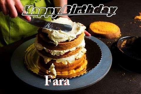 Fara Birthday Celebration