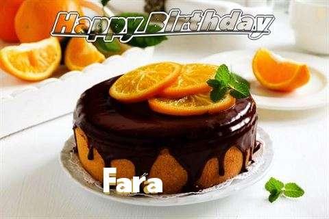 Happy Birthday to You Fara