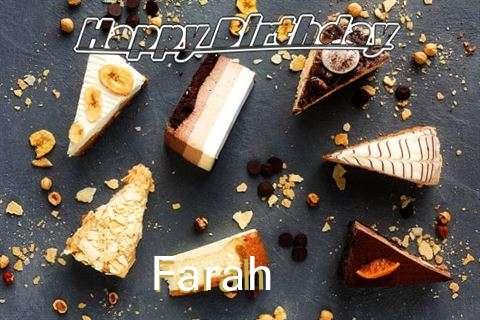 Happy Birthday to You Farah