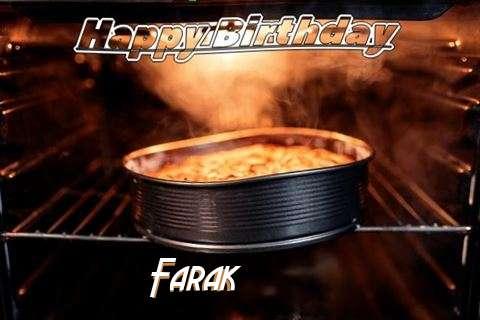 Happy Birthday Wishes for Farak