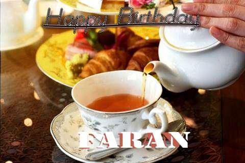 Happy Birthday Faran Cake Image