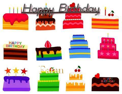 Birthday Images for Faran