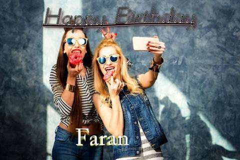 Happy Birthday to You Faran