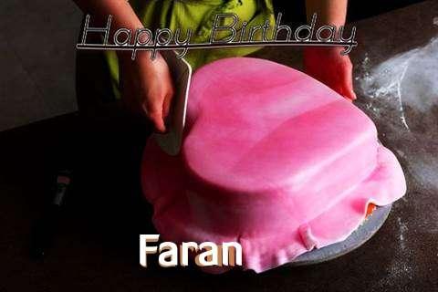 Happy Birthday Cake for Faran