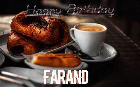 Happy Birthday Farand Cake Image