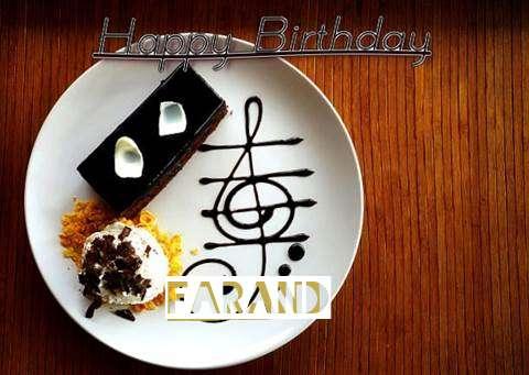 Happy Birthday Cake for Farand