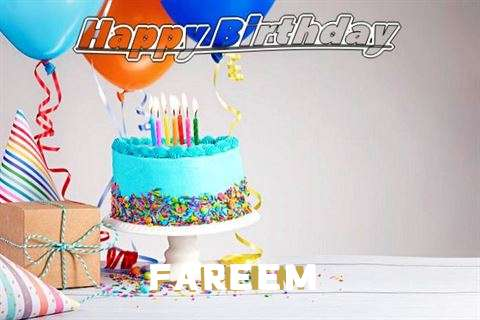 Happy Birthday Fareem Cake Image
